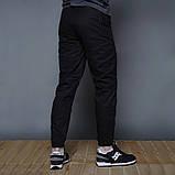 Мужские брюки с карманами Thor черные(зима) на флисе  бренд ТУР, фото 8