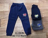 Спортивные брюки утепленные на мальчика оптом, Sincere , 80-110 рр, фото 1