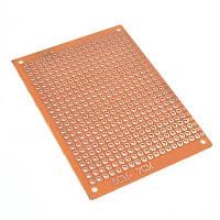 Монтажна макетна плата PCB 50х70мм, крок 2.54 мм, одностороння