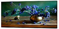 Картина на холсте Декор Карпаты Цветы 50х100 см (c538)