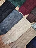 Сенсорны вязание шерсти трикотаж женские перчатки для работы на телефоне плоншете ANJELA только оптом, фото 3