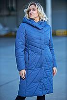 Новинка! Зимнее пальто на синтепухе Даяна размеры 42-54, фото 3