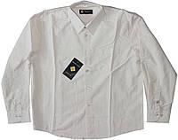 Рубашка бежевая для мальчика рост 134/140 см, 146 см