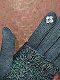 Сенсорны вязание шерсти трикотаж женские перчатки для работы на телефоне плоншете ANJELA только оптом, фото 6