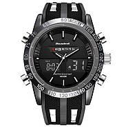 Мужские часы Readeel черные с белым,Чоловічий наручний годинник, фото 3
