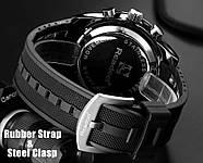 Мужские часы Readeel черные с белым,Чоловічий наручний годинник, фото 4
