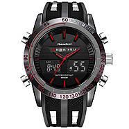 Мужские часы Readeel черные с красным, Чоловічий годинник, фото 3