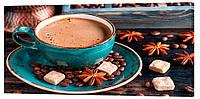 Картина на холсте Декор Карпаты Кофе 50х100 см (o1561)