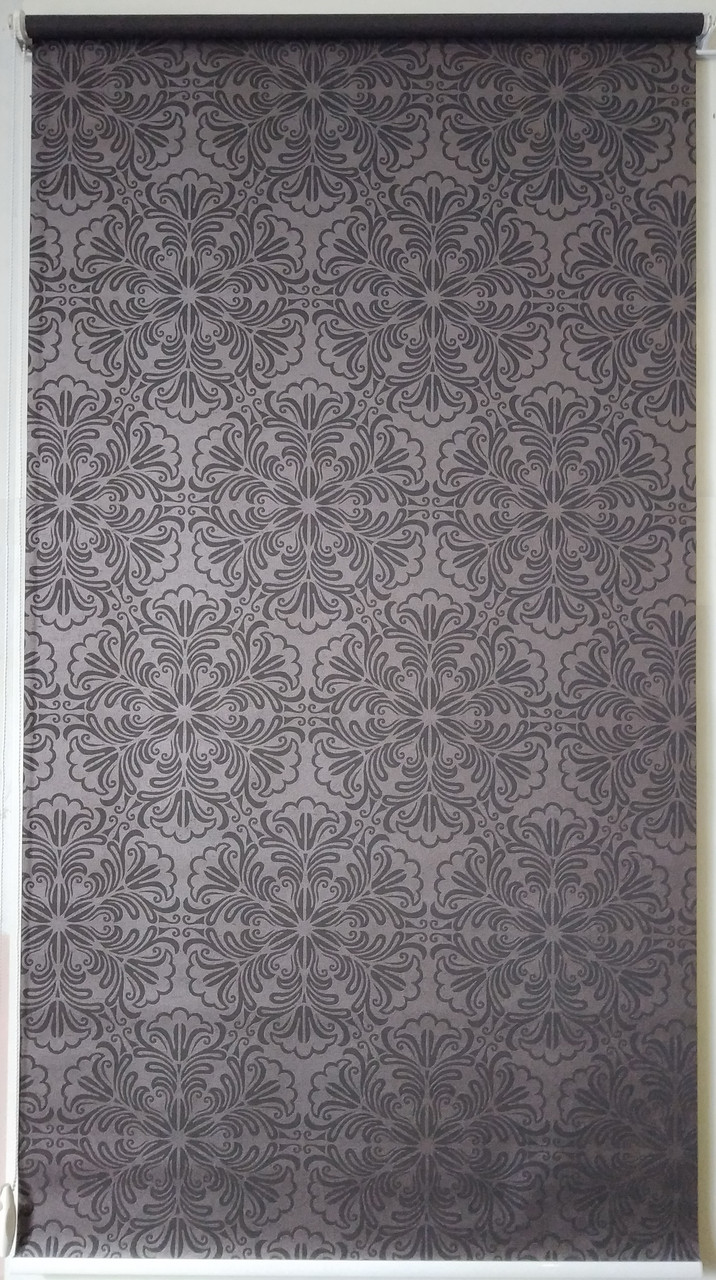 Рулонная штора 975*1500 Эмир Шоколад