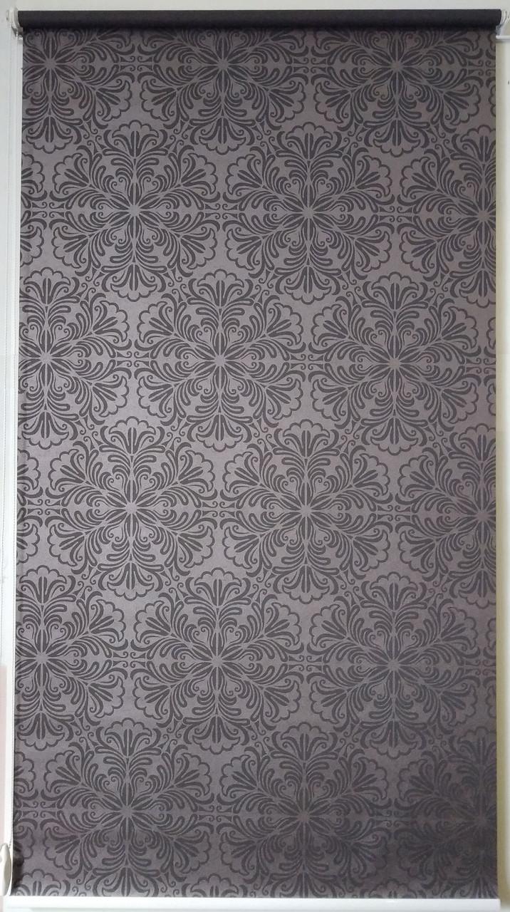 Готовые рулонные шторы 1300*1500 Ткань Эмир Шоколад