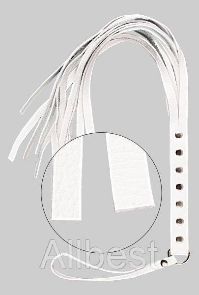 Флогер sLash - S&M Fancy Leather Floger White (280120)