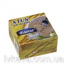 Тунец в подсолнечном масле   Diamir, 80 гр, фото 2