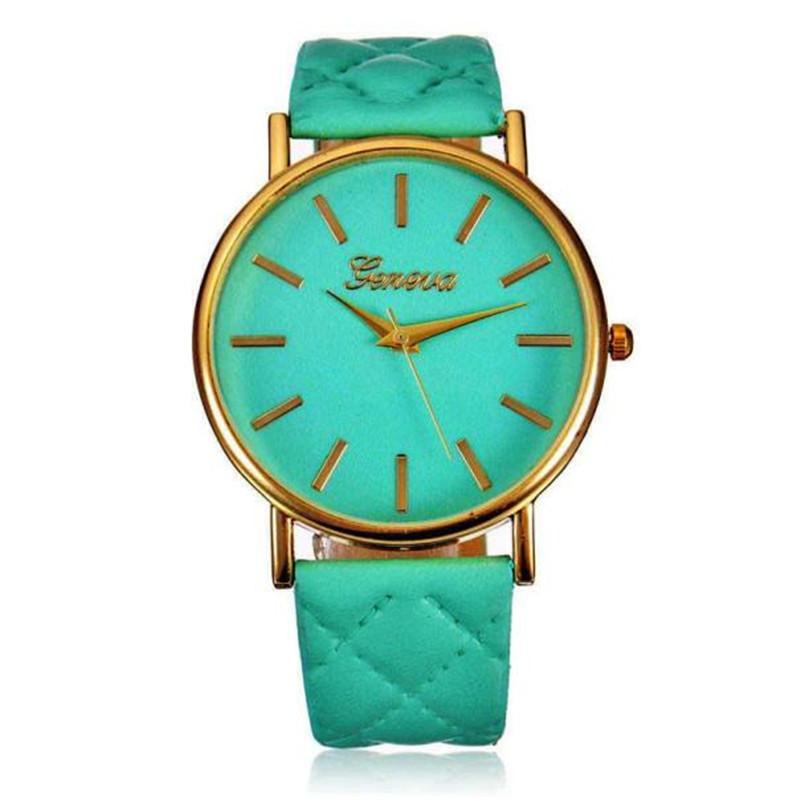 Женские часы Geneva Charm бирюзовые