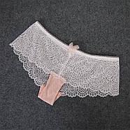 Комплект нижнего белья 75B (34B) pink, набор женского белья, фото 6