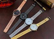Женские часы Classic под мрамор золотые, жіночий наручний годинник з мраморним циферблатом, фото 7