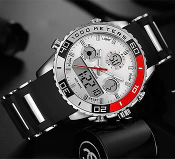 Мужские часы Readeel с белым циферблатом, Чоловічий годинник