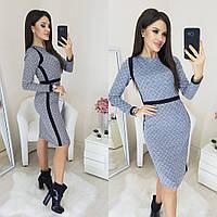 Платье / трикотаж / Украина 35-280