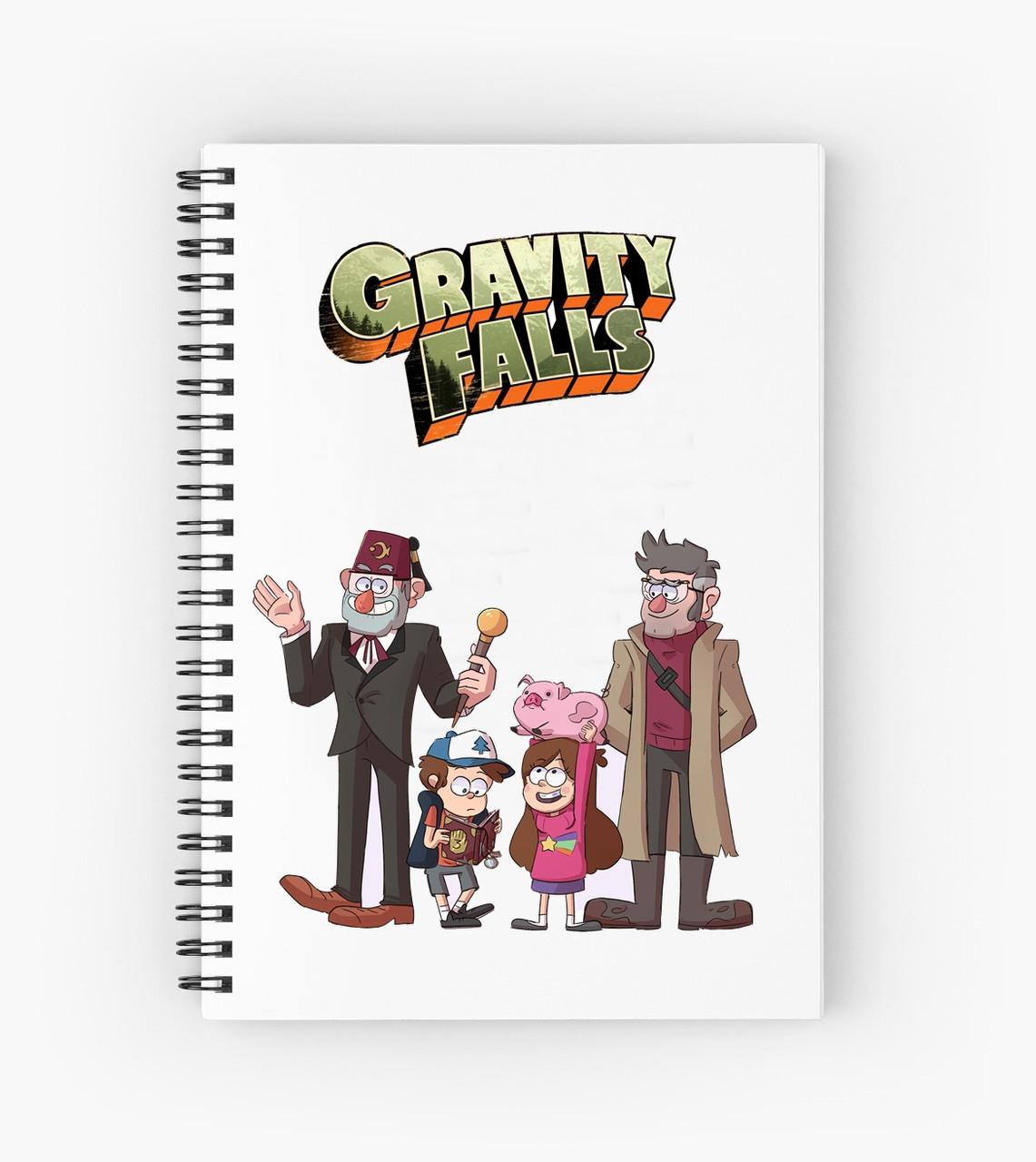 Блокнот Гравити Фолз 6