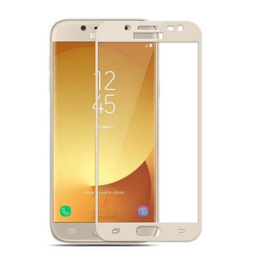 Защитное стекло Galaxy J3 2017 / Samsung J330 Gold