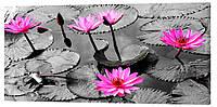 Картина на холсте Декор Карпаты Цветы 50х100 см (c137)