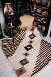 Лижник Карпатский плед Зебра 200х220 из шерсти, фото 3