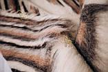 Лижник Карпатский плед Зебра 200х220 из шерсти, фото 4
