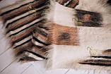 Лижник Карпатский плед Зебра 200х220 из шерсти, фото 5