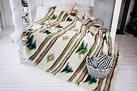 Лижник Карпатский плед из шерсти Ялинка