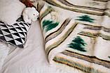 Лижник Карпатский плед из шерсти Ёлка 150x210, фото 4