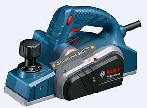 ✅ Электрорубанок Bosch GHO 6500 0601596000