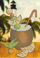 Схема для вышивки бисером Тропический коктейль КМР 5132