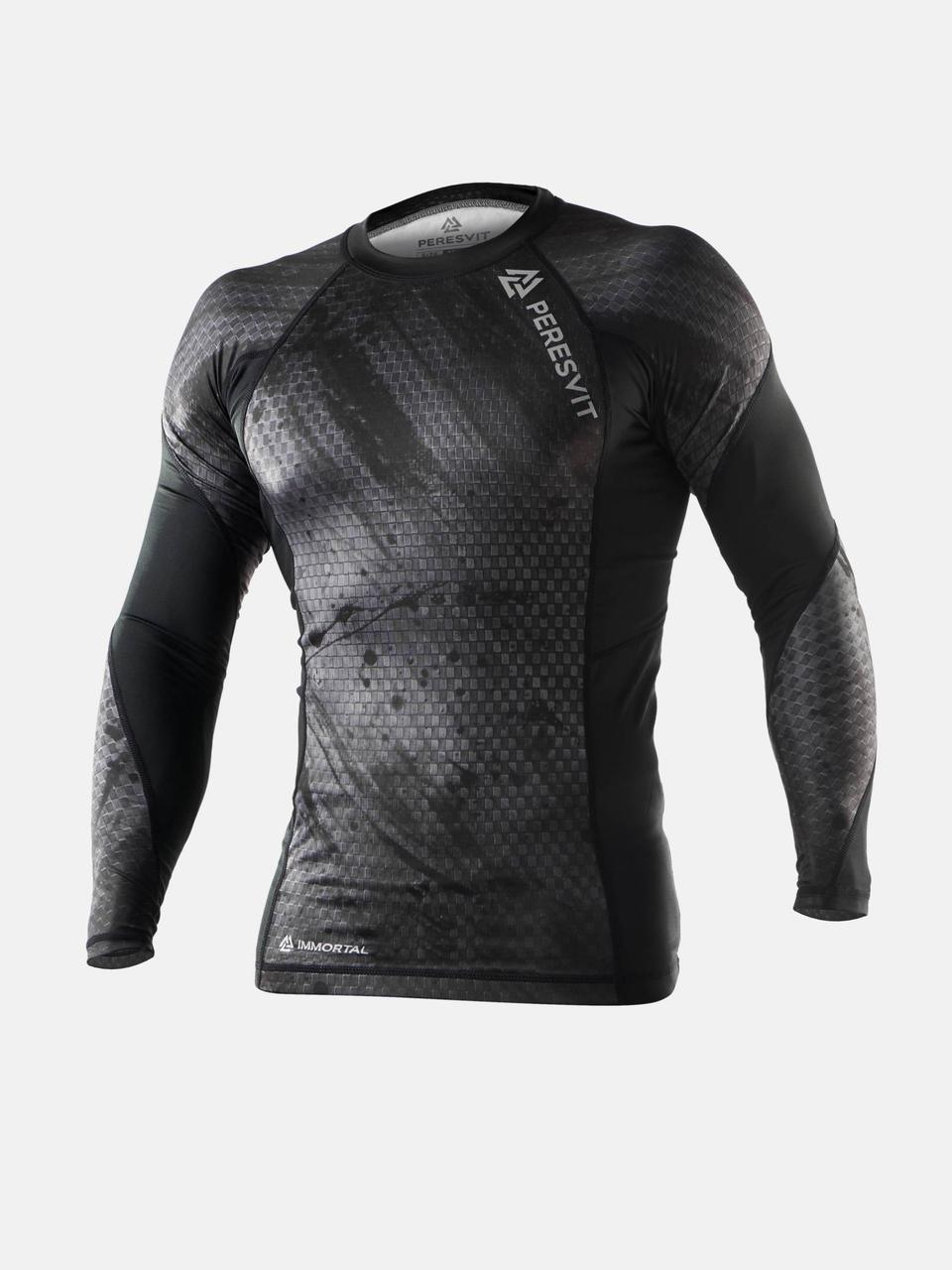 Рашгард Peresvit Immortal 2.0 Black Rain Long Sleeve Rash Guard
