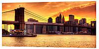 Картина на холсте Декор Карпаты Города 50х100 см (g259)