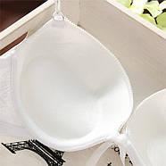 Комплект нижнего белья 75C (34C) white, push up, набор женского белья с пуш ап, фото 5