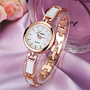 Женские часы Lupai rose gold с белым, жіночий годинник, женские наручные часы на браслете, фото 2
