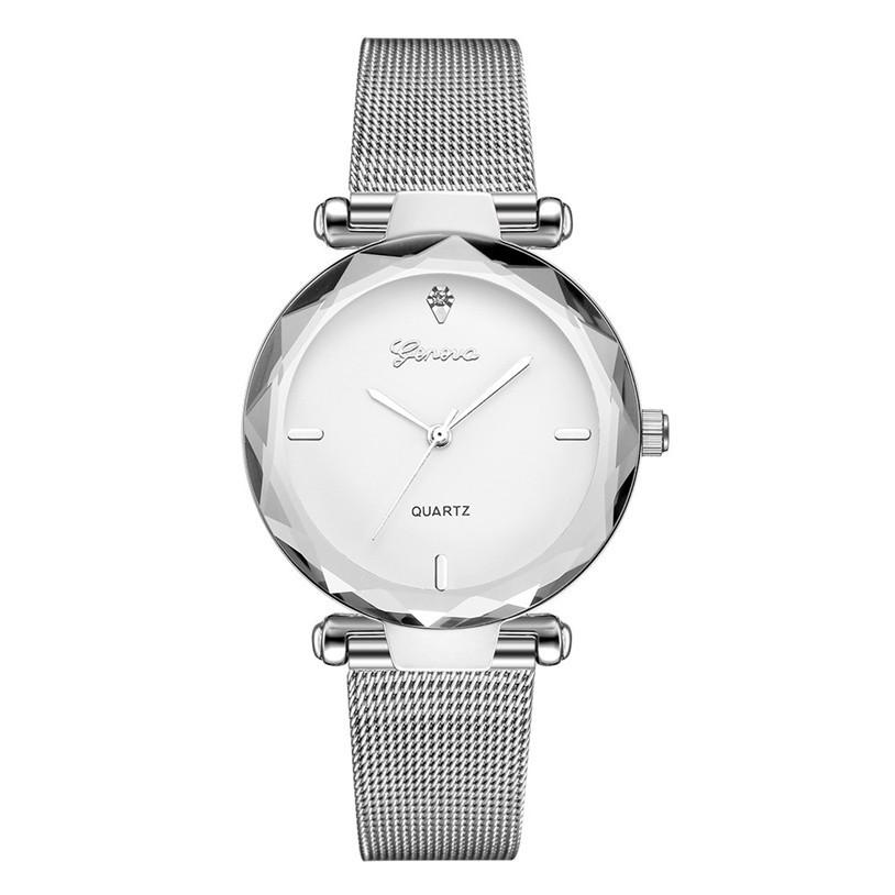 Женские часы Geneva Shine silver white, Жіночий наручний годиннк, наручные часы Женева