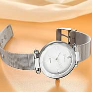 Женские часы Geneva Shine silver white, Жіночий наручний годиннк, наручные часы Женева, фото 2