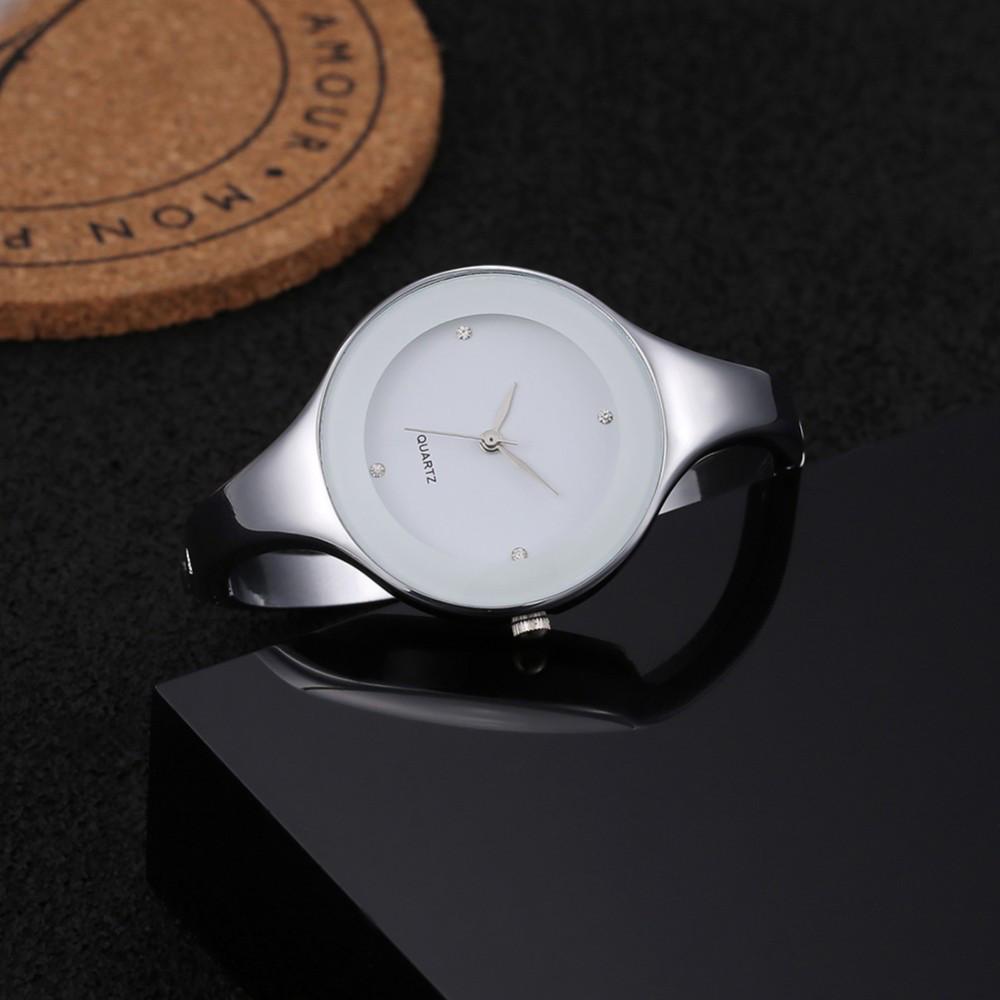 Женские часы браслет Kimio 16 см белый циферблат