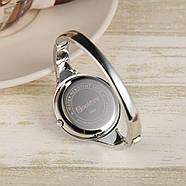 Женские часы браслет Kimio 16 см голубой циферблат, фото 4