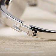 Женские часы браслет Kimio 16 см голубой циферблат, фото 5