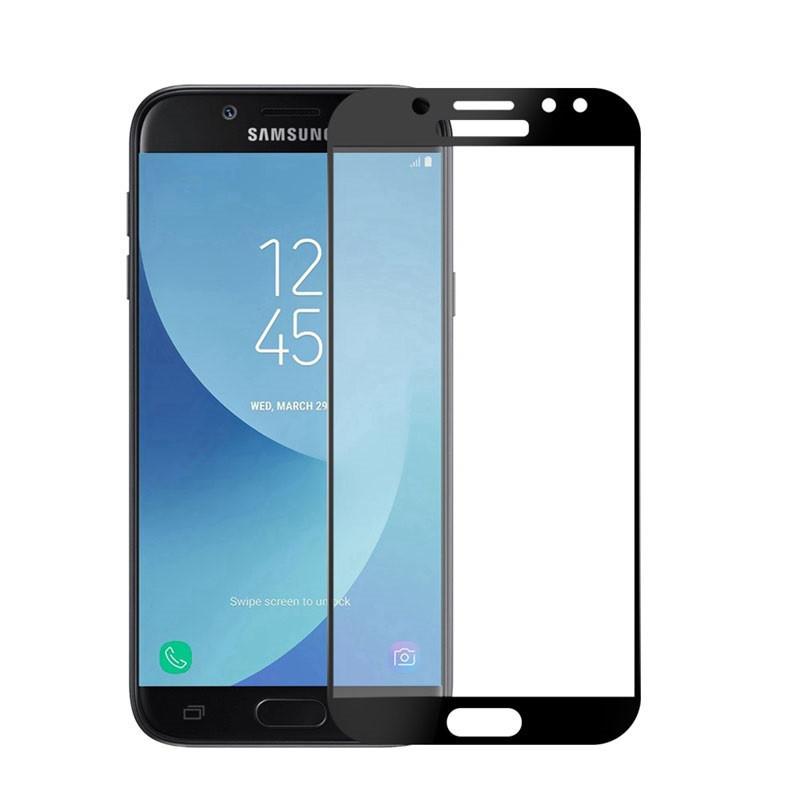 Защитное стекло Galaxy J7 2017 / Samsung J730 Black