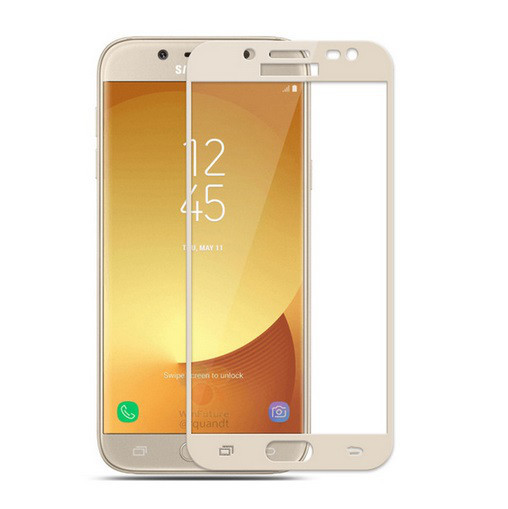 Защитное стекло Galaxy J7 2017 / Samsung J730 Gold
