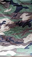 Ткань камуфляжная трикотаж Woodland (вудланд)