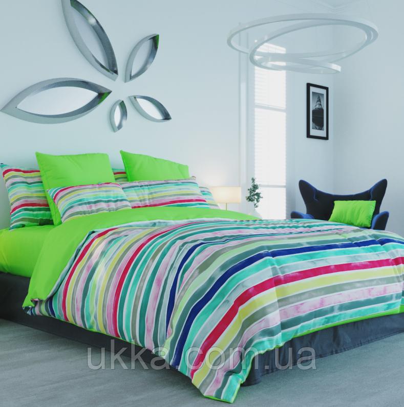 Двуспальное постельное белье Iva multi ТЕП