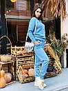 """Модный теплый вязаный женский костюм с брюками """"Джейн"""", фото 9"""