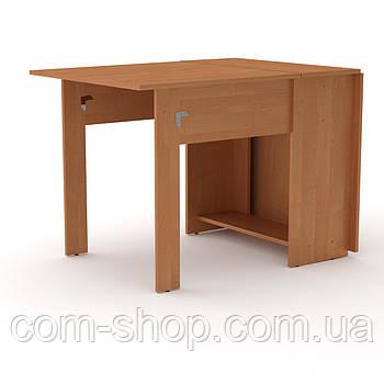Стол книжка 1 ольха  (170х76х74 см)