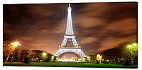 Картина на холсте Декор Карпаты Париж 50х100 см (g152)