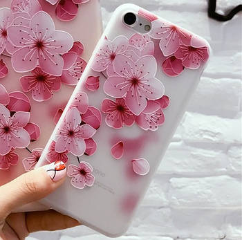 Чехол Apple iPhone 7 Flowers