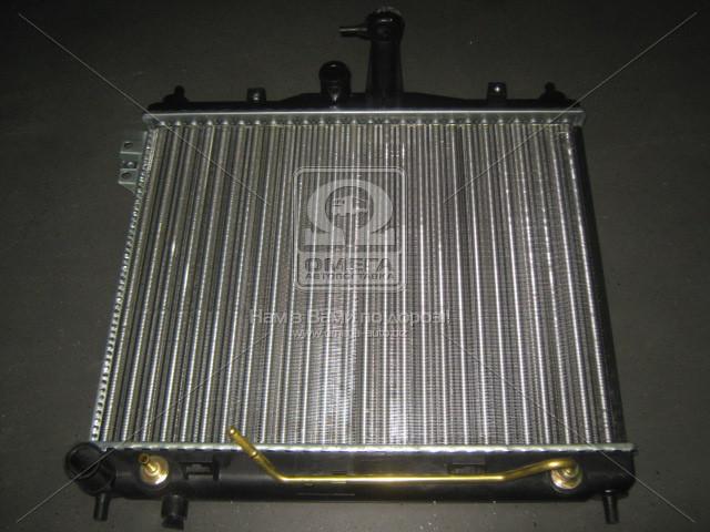 Радиатор охлаждения двигателя GETZ 13 AT +-AC 02- (Van Wezel). 82002100