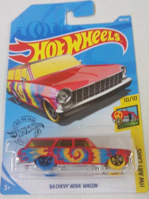 Машинка Hot Wheels 2019 '64 Chevy Nova Wagon